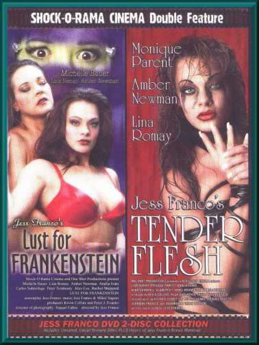 LUST FOR FRANKENSTEIN / TENDER FLESH DVD